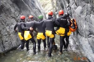 Canyoning Rio Lerca034