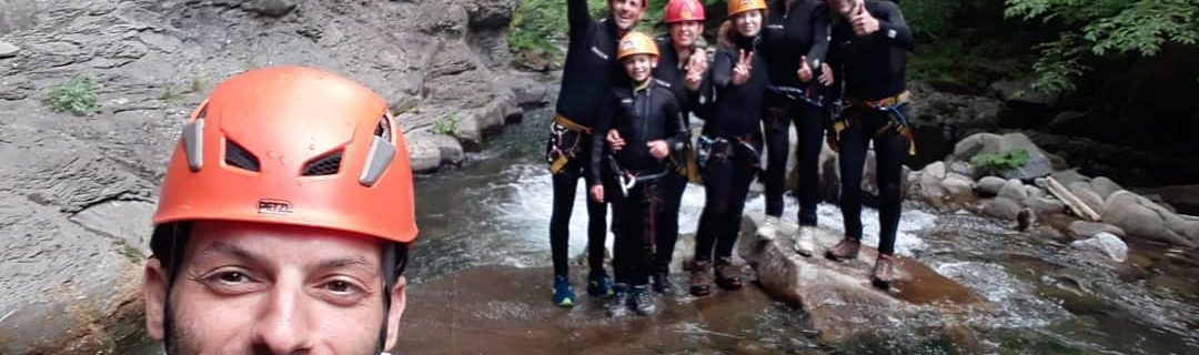 Canyoning Secchia