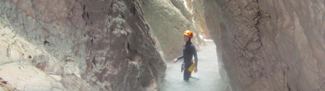Canyoning Zemola
